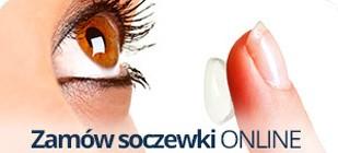Dobór okularów oraz soczewek kontaktowych z nauką ich zakładania, zdejmowania i pielęgnacji